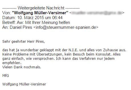 Meinung Müller Versimer