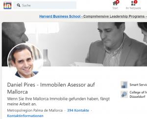 Linkedin Profil Daniel Pires